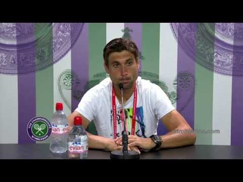 David Ferrer: 'he surprised me' - Wimbledon 2014