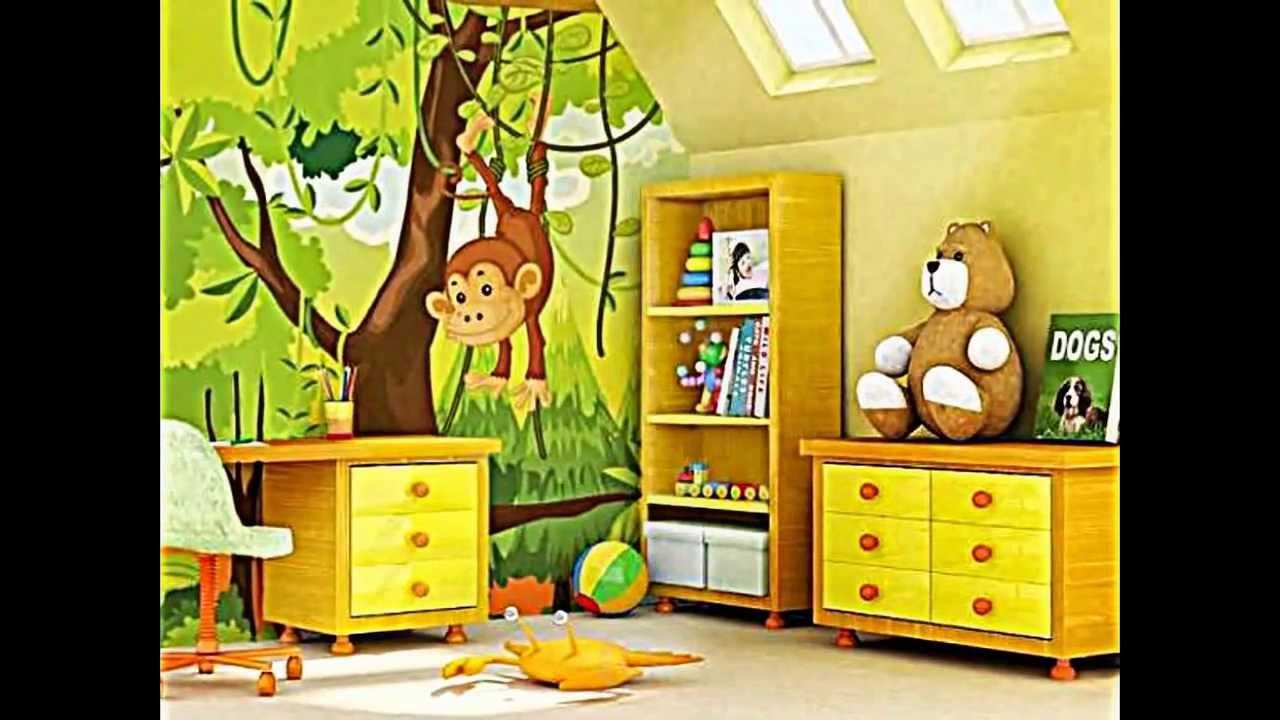 15 einrichtungsideen f r dschungel kinderzimmer und safari deko youtube - Kinderzimmer einrichtungsideen ...