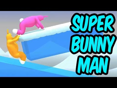 Teo plays Super Bunny Man with Flash