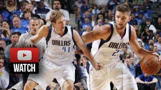 Dirk Nowitzki & Chandler Parsons Highlights Vs Jazz (2014