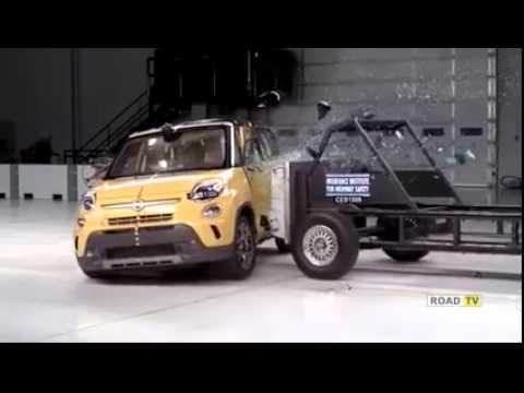 Краш-тест Fiat 500L