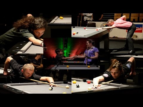 Coupe de France de Billard Blackball 2016 à Albi - National Pool Tournament Slideshow