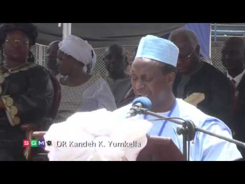 Kandeh Yumkella - Tribute to HE Ahmed Tejan Kabba