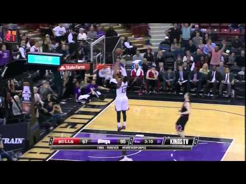 Derrick Williams Alley Oop Off Backboard Fail