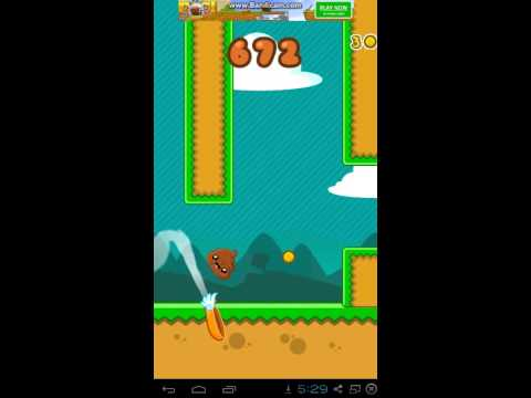 Happy Poo Flap-Android HD Gameplay