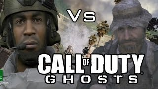 """Call Of Duty Ghosts Vs MW3 Graphics """"XBOX ONE"""" COD"""