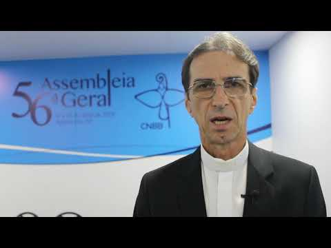 Dom João Francisco Salm faz balanço do primeiro dia da 56ª Assembleia Geral da CNBB