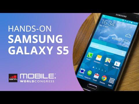 MWC 2014: Experimentamos o Samsung Galaxy S5