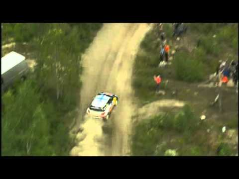 Loeb, Ogier &amp; Latvala - SS18 Surkee 2 Live WRC Rally Finland 2011