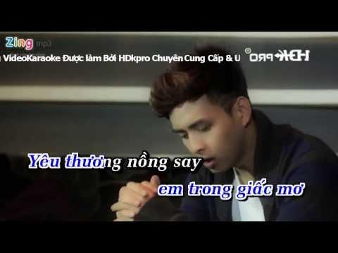 [Karaoke] Ký Ức Trong Anh - Hồ Quang Hiếu