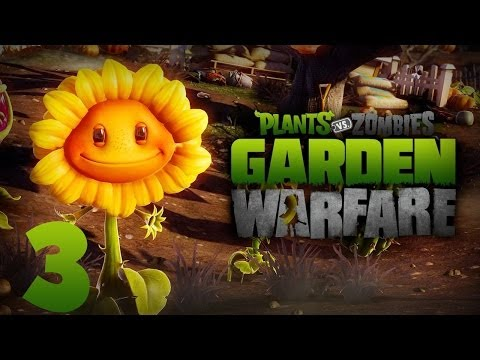 Plants vs Zombies: Garden Warfare Gameplay Ep.3 - Gardens and Graveyards (PC)