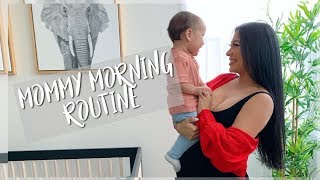 MOMMY MORNING ROUTINE    PREGNANT WITH AN INFANT