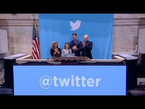 Twitter stock gains 73% during debut day on NYSE