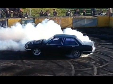 Levin skids -  VB V6 turbo commodore round 2