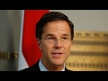 Early exit polls show PM Rutte winning Dutch election