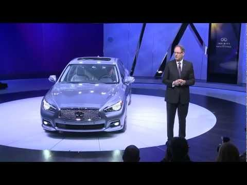 Detroit Auto Show 2013 NAIAS Highlights of The All-New Infiniti Q50