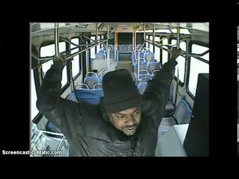 Bus Driver Beats On Passenger For Asking Questions - Full Video