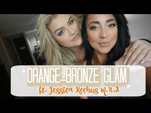 Bronze Eye Makeup Tutorial ft. Jessica Keehus | HIGH + LOW END
