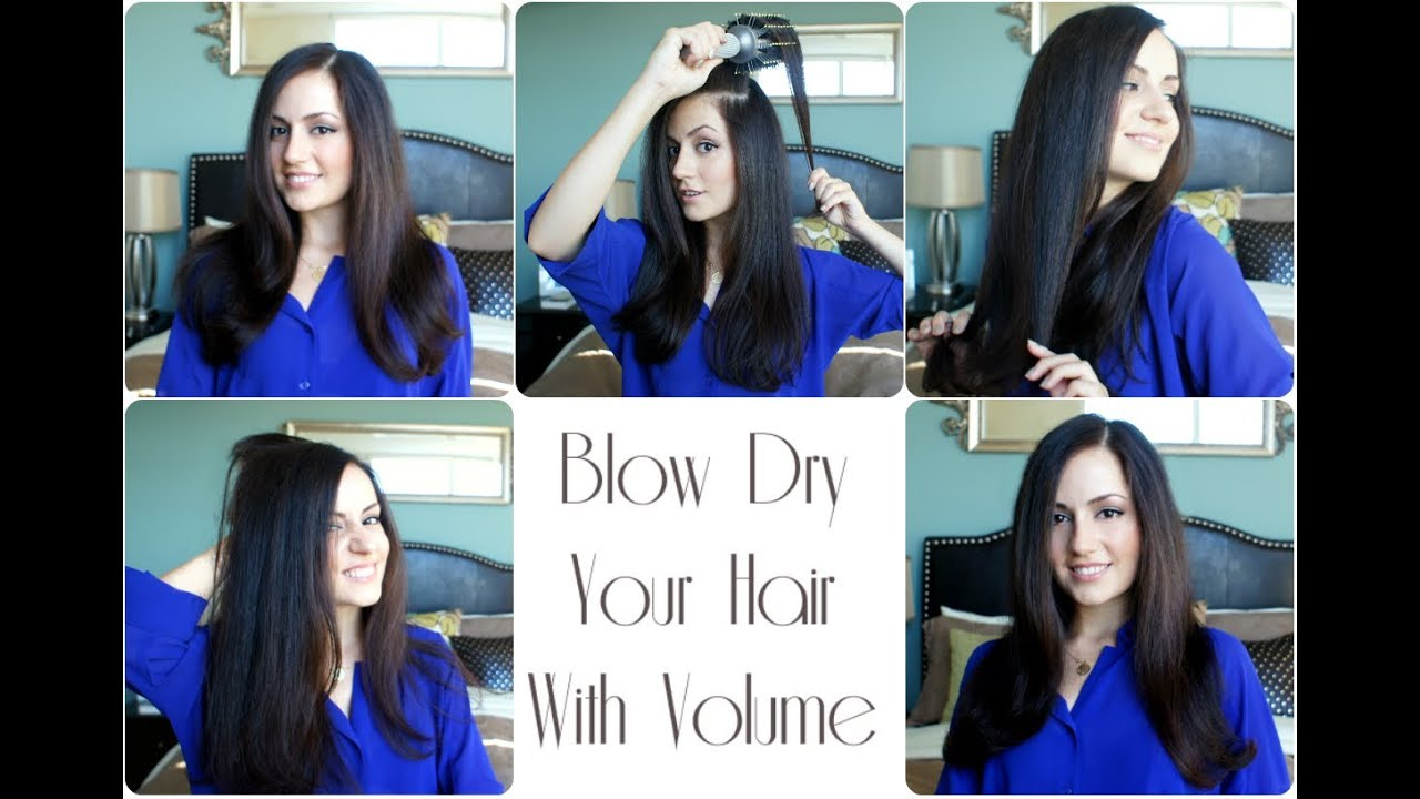 How to: Blow Dry Your Hair with Volume