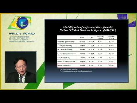 MIPR Conference: Pancreatoduodenectomy - Pro/con MIS Assisted Approach - Yoshiharu Nakamura