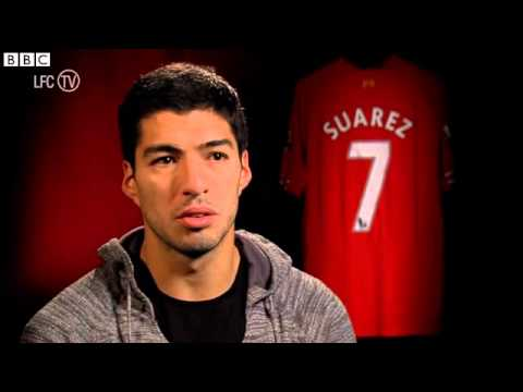 Liverpool's Luis Suarez 'very happy' at the club 20/12/13