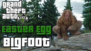 ♠ GTA 5 Easter Eggs: Bigfoot How To Find Bigfoot (GTA