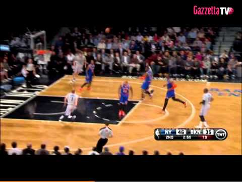 NBA brooklyn net-new york knicks   highlights del 16/04/2014