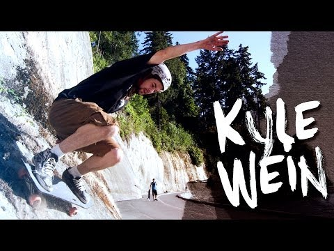 Kyle Wein on the Tomahawk - Landyachtz
