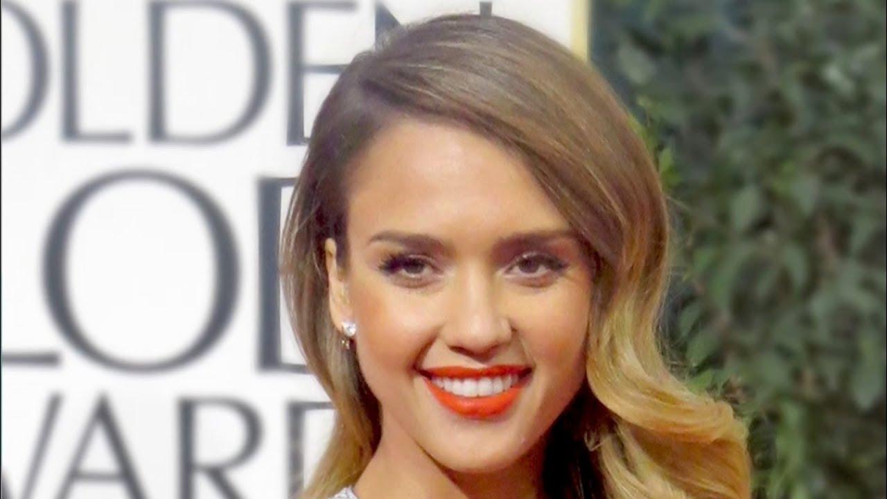 jessica alba golden globes 2013 inspired makeup tutorial