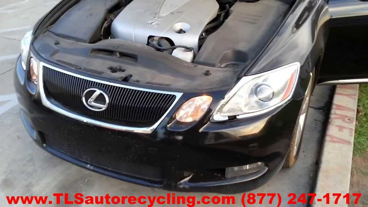 Parting Out 2007 Lexus Gs 350 Stock 3120gy Tls Auto