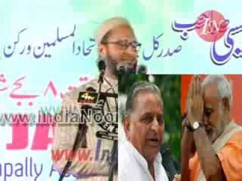 Asaduddin Owaisi slams Mulayam Singh and Akhilesh Singh Yadav of Samajwadi Party