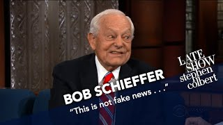 Bob Schieffer Knows U.S. Presidents, Says This One's 'Different'