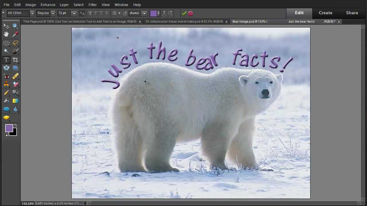 how to add text in phonto