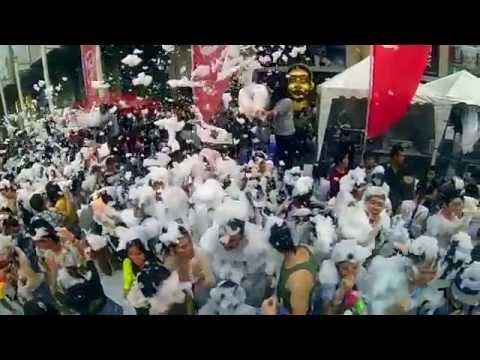 World Biggest Water Festival - Songkran 2014 Bangkok