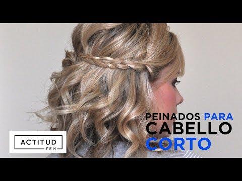 Peinados Fáciles para cabello corto | ActitudFEM