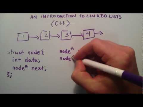 How to Create a Linked List C++ Introduction to Linked Lists - YouTube