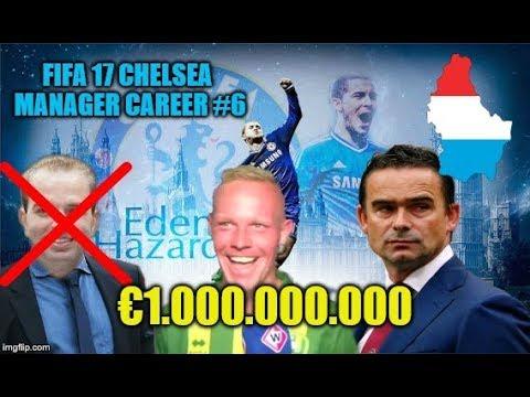 FIFA 17 CHELSEA MANAGER CAREER #6   OVERMARS KOMT, GELD IN OVERVLOED!
