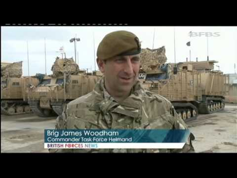 Key Milestone in Troop Withdrawal from Afghanistan 17.03.14