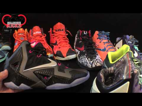My Nike Lebron 11 (XI) Collection So Far (Feb 2014)