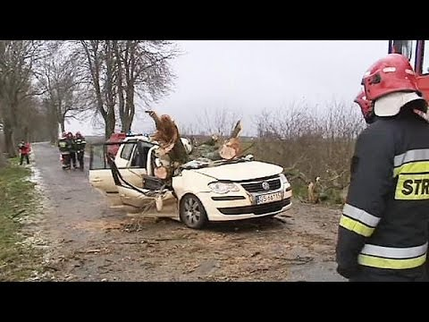 Storm Xaver wreaks deadly havoc across Europe