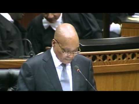 State of the Nation Address 2013 by President Jacob Zuma
