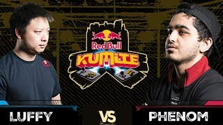 Red Bull Kumite 2017: Luffy vs  Phenom | Losers Round 1