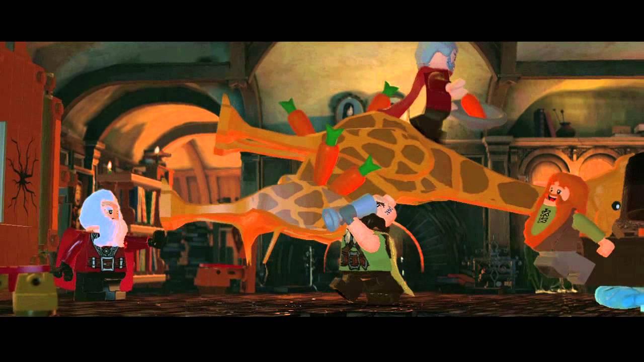 LEGO The Hobbit Announcement trailer - YouTube