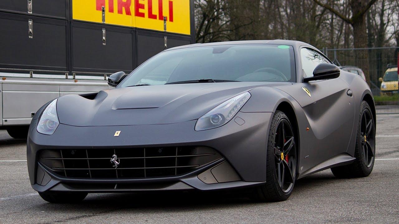 Displaying 17 gt  Images For - Matte Black Ferrari F12   Ferrari F12 Matte Black