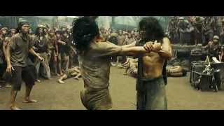 Ong Bak 2 Slave Fight Scene HUN DUB HD