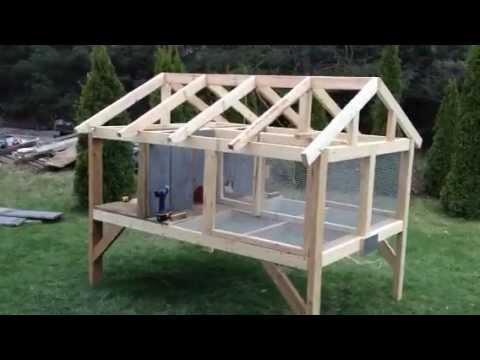 canadian rabbit hutch part one youtube. Black Bedroom Furniture Sets. Home Design Ideas