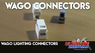 Wago lighting connectors