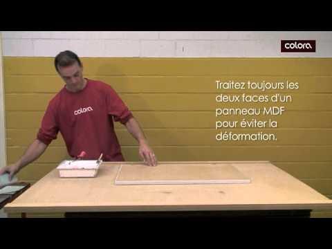 Peindre du mdf youtube - Peindre du lambris lasure ...