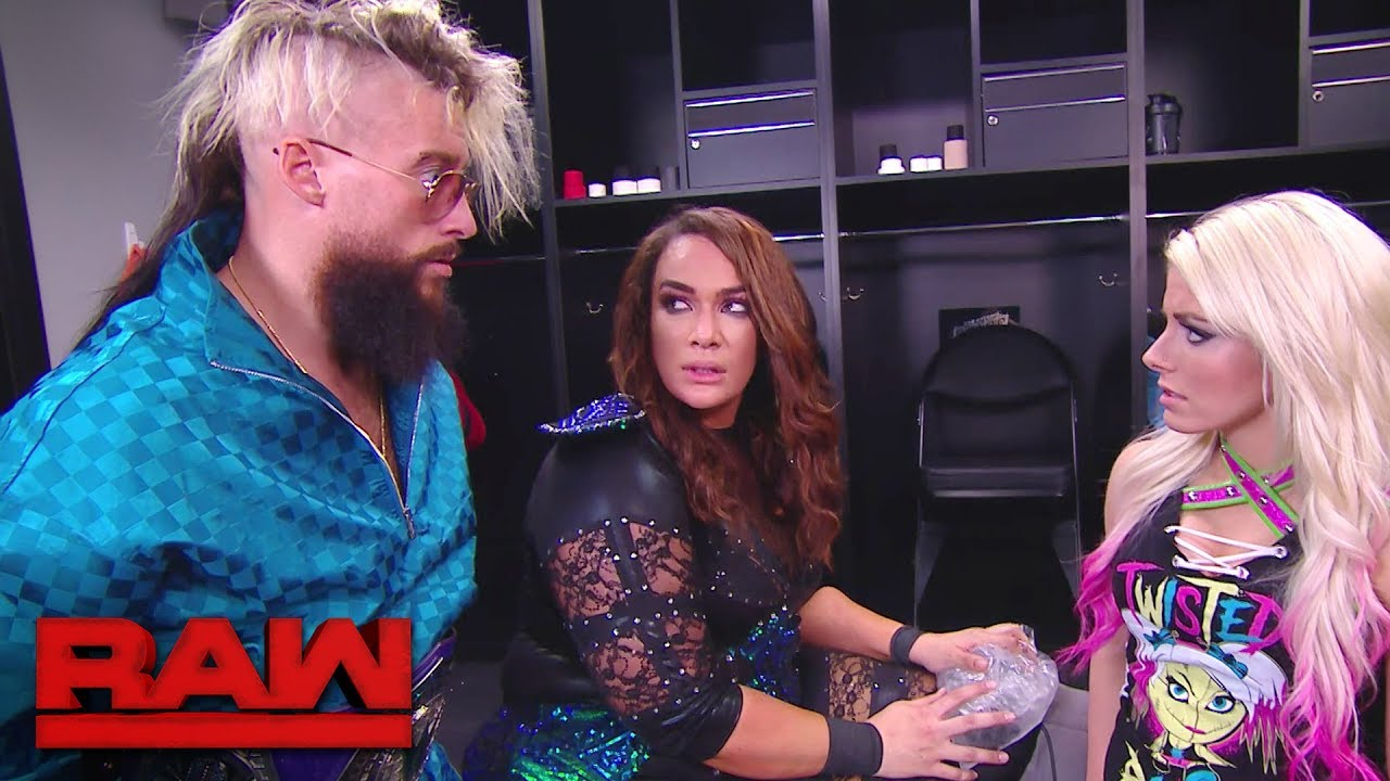 enzo amore reveals that he was going to lose his belt at wwe raw 25 talks breakup with liv morgan