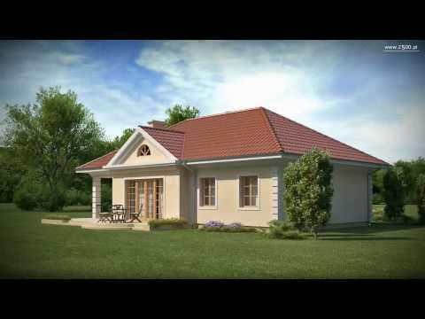 Projekty Z500 - projekt domu Z2 w HD